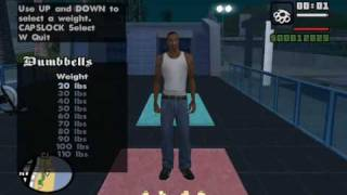 Starter Save - Part 11 - GTA San Andreas PC - complete walkthrough (all details) - achieving 13.37%