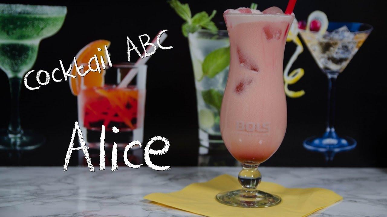 alice der sahnig fruchtige cocktail cocktail abc a ohne alkohol youtube. Black Bedroom Furniture Sets. Home Design Ideas