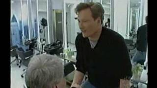 Late Night - Conan Visits Beauty School