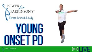 Power for Parkinson's Young Onset Circuit Training - Live Streaming Day 151