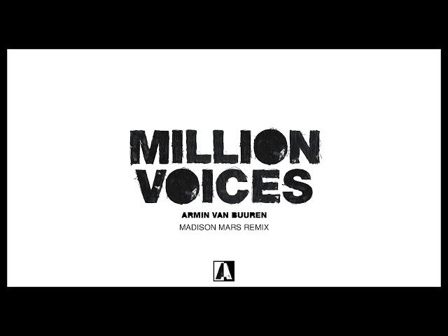 Armin van Buuren - Million Voices (Madison Mars Remix)