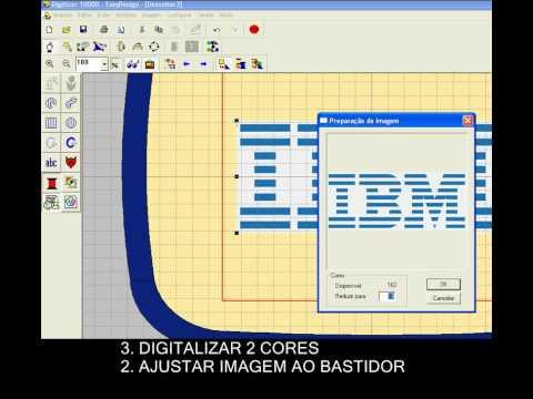 SOFTWARE - Digitizer 10000 - Converter uma imagem em desenho de bordado 202ef7f24a3