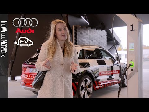 Audi Charge & Fly At Munich Airport
