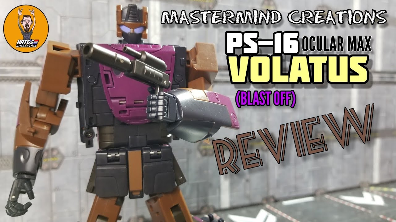 Mastermind Creations VOLATUS (Masterpiece Scale Blast Off) Review By Kato's Kollection