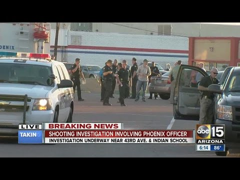 Shooting investigation in W. PHX involving Phoenix police