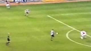 dennis bergkamp that goal against newcastle 2002 goal of the decade