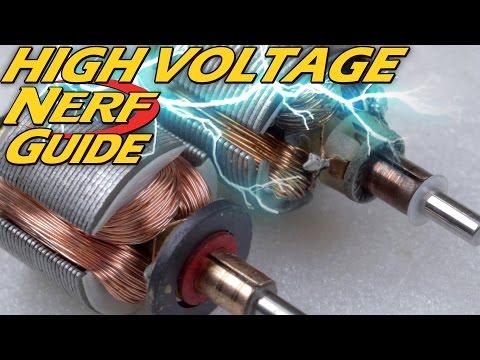 Batteries & Motors 101 | Nerf Modding Explained