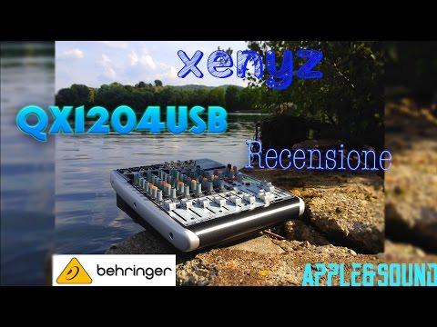 Mixer Behringer XENYX QX1204USB|Recensione[ITA]