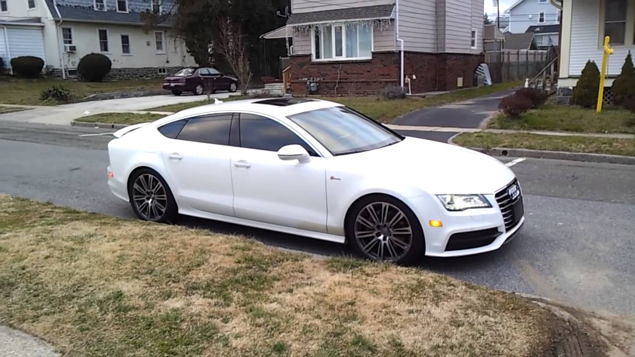 Audi A7 2012 supercharged acceleration - YouTube  Audi on