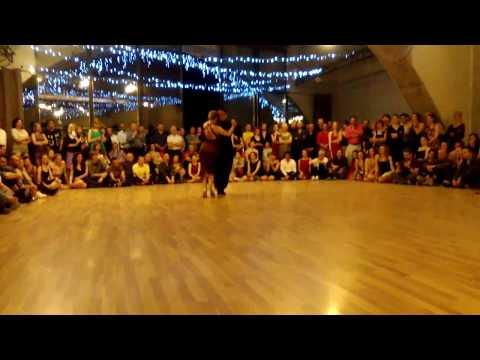 Carlitos Espinoza & Noelia Hurtado. Tesoromio Tango Weekend, Kiev 20.05.2017 (Tango)