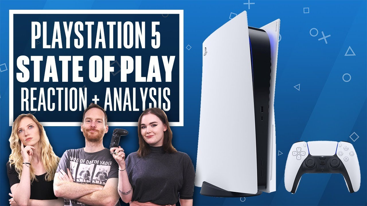 Ps5 State Of Play Livestream Reaction Analysis Playstation 5 Games And Psvr Youtube