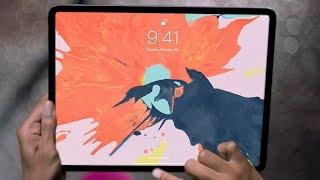 Первый Обзор iPad Pro 2018