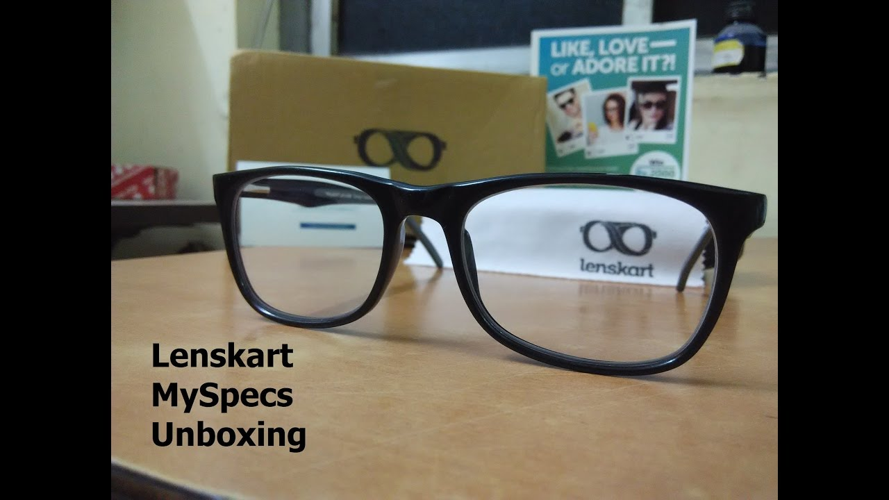 9ea3c3851aa Lenskart UNBOXING - World s Most Unique Spectacles You Have Ever Seen