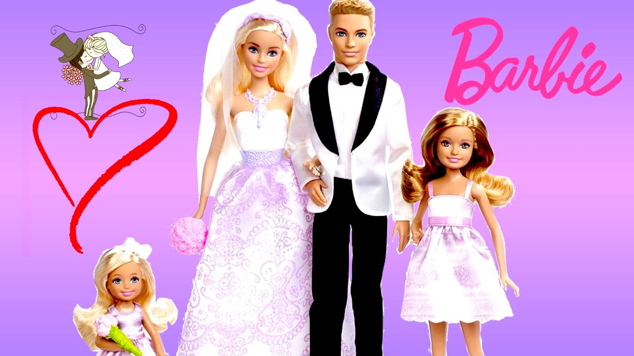 Wedding Gift Set Barbie : Barbie Wedding Gift Set Barbie Life In the Dreamhouse Bride Groom ...