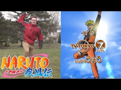 Naruto Shippuden: Opening 4 (In Real Life)