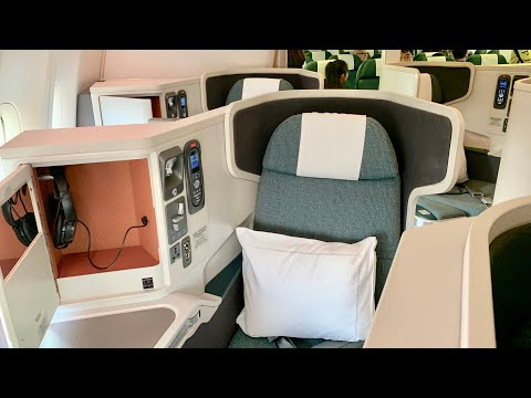 Cathay Pacific Business Class 777-300ER Ho Chi Minh City To Hong Kong CX766