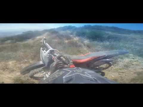 Santa Clarita Mountains | Medium - Hard Trail | Dirt-bikes riding full trail