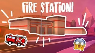 FIRE STATION IN JAILBREAK?! | ROBLOX #64
