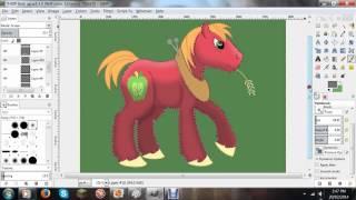 How I draw Ponies: Big Macintosh (Style Test)
