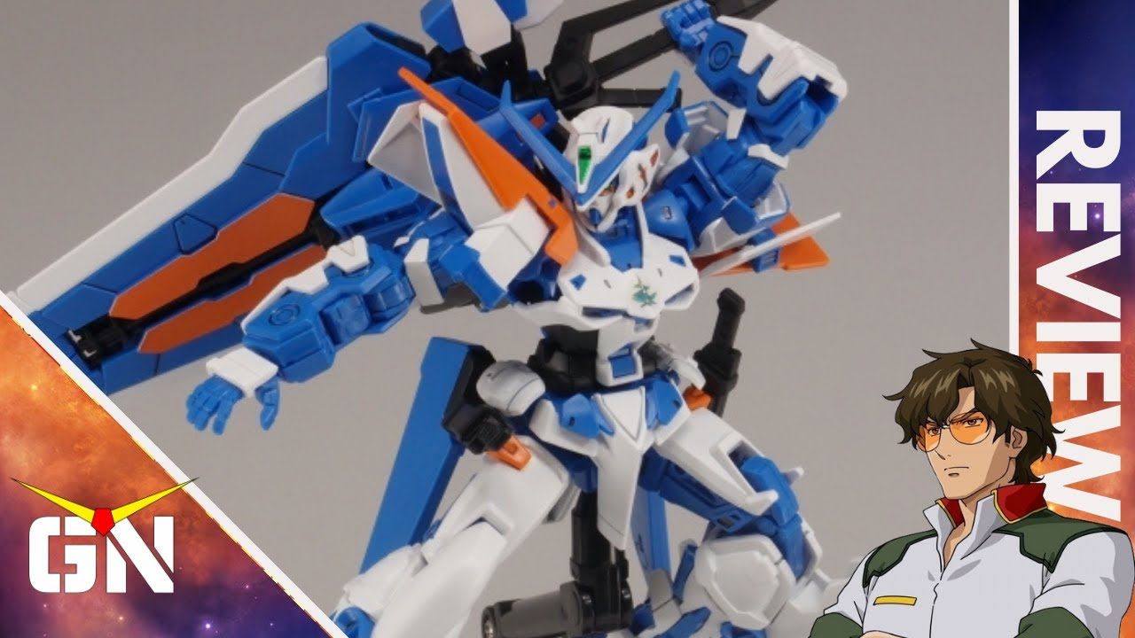Not Greater Than The Sum Of Its Parts HG Gundam Blueframe Astray Second L   REVIEW