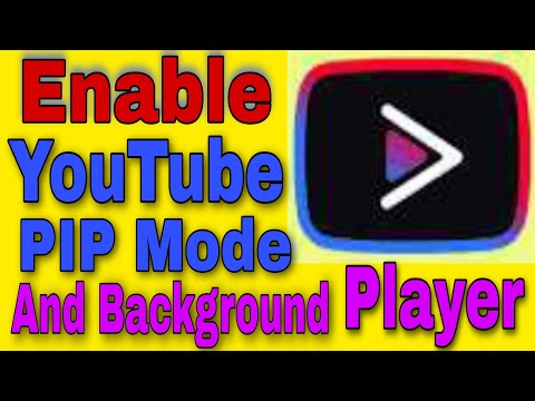how to enable pip mode | how to play youtube video in background | youtube vanced | 2020