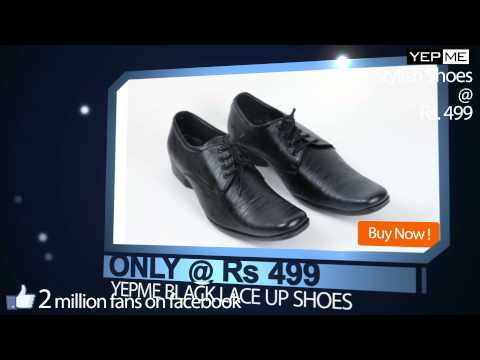 Shoes ad (Buy Online @ Rs. 499)