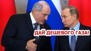 Лукашенко наехал на Путина, требуя дешевого газа / конфликт, устроил истерику