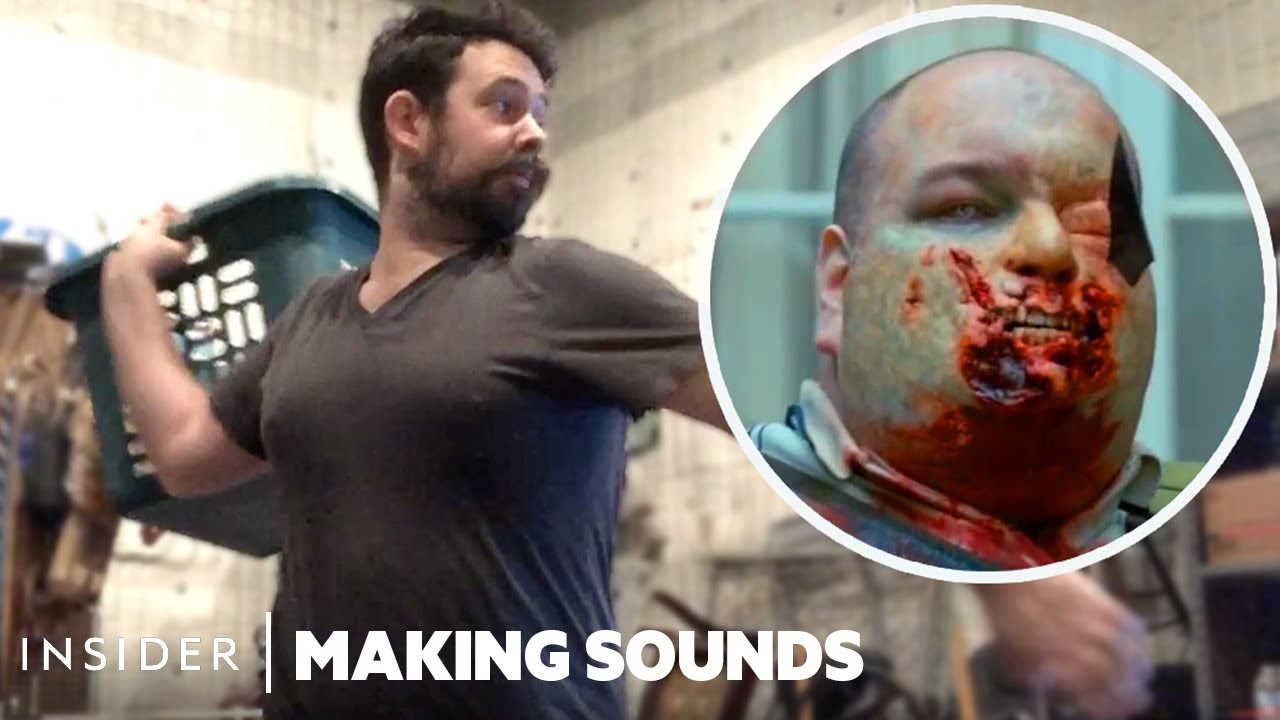 How Sounds Are Made For Zombie Movies - Recreating 'Shaun of the Dead' | Making Sounds