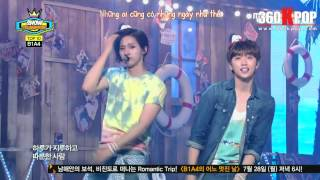 [VIETSUB][PERF] 140723 B1A4 - SOLO DAY (Show Champion){BANA Team@360kpop}