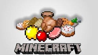 Рецепты крафта еды в Minecraft