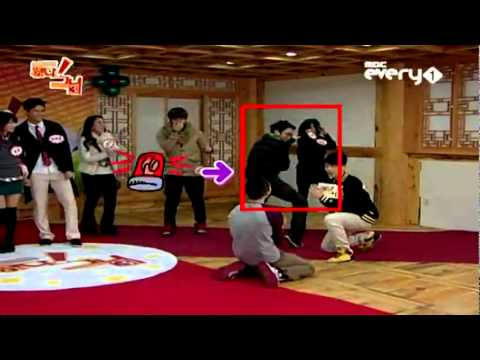 Minzy Jay Park Hyuna Donghae Uee TaeMin ( Kpop Dancing Super Cute)^^