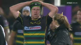Clermont vs Northampton / European Rugby Challenge cup 2018-2019 / 12.01.2019
