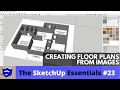 Creating Floor Plans from Images in Sket