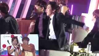 EXO REACTION A Pink Mr. Chu