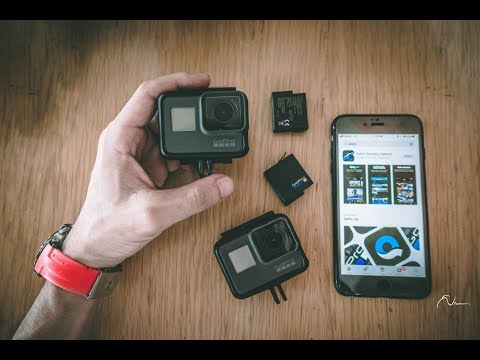 How to Connect GoPro Hero6 Hero5 with smartphone