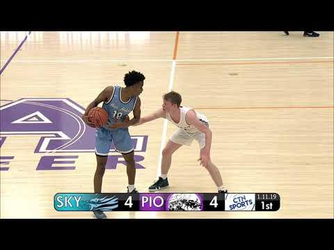 CTN SPORTS 2019 - Skyline @ Pioneer Men's Basketball, January 11