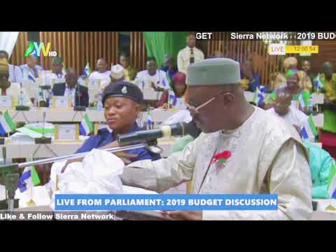 "2019 Sierra Leone Budget ""Shinka Budget"" House Of Parliament Debates"