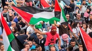 بالفيديو.. تظاهرات حاشدة لعرب 48 تضامنا مع الفلسطينيين