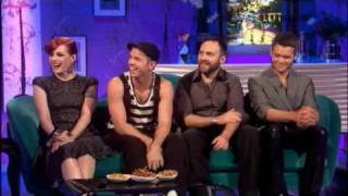 Scissor Sisters Interview on Chattyman