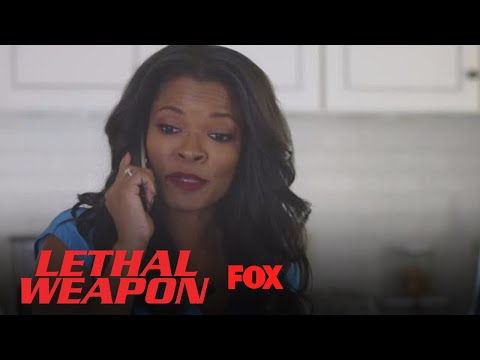 Trish Gives Roger A Wake Up Call | Season 2 Ep. 1 | LETHAL WEAPON