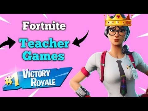 Teacher plays FORTNITE with SUBSCRIBERS *Live VALENTINE'S DAY EVENT* **Road to 6K**