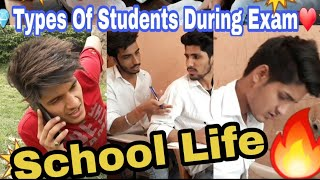School Ke Wo Din | Types Of Students During Exam | Ankit Sharma | Funny Video |