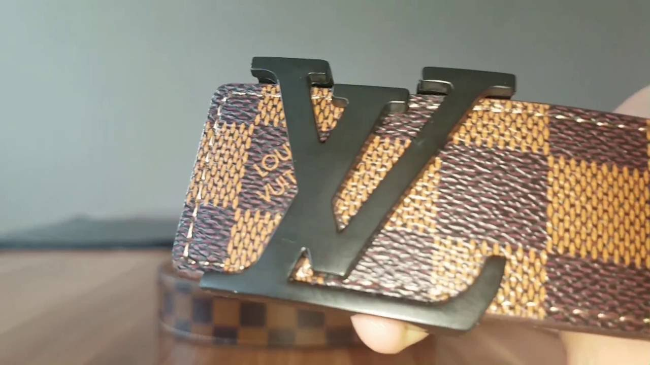 3b362ae9e06 Aliexpress Unboxing Preview LV Belt Louis Vuitton Gürtel - YouTube