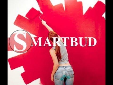 Подготовка и покраска стен краской Sniezka | SMARTBUD