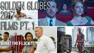 Who Should Win Best Picture, Actor - 2017 Golden Globes