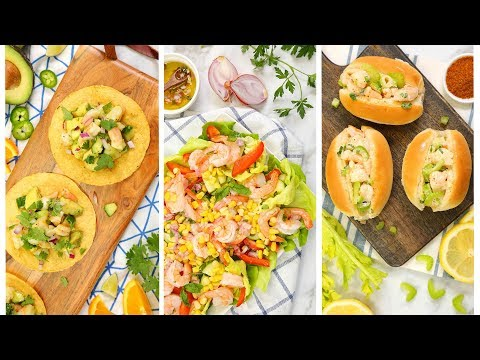 10 Minute Shrimp Recipes | Easy Summer Dinner Ideas