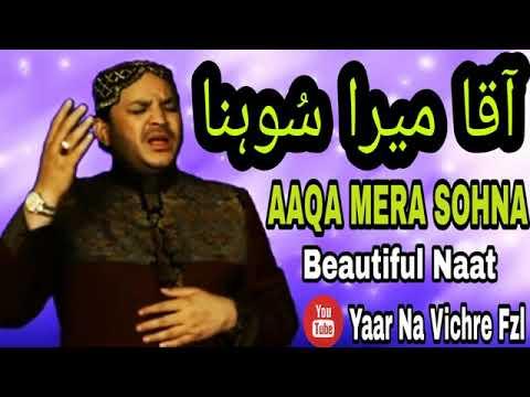 Download Aaqa Mera Sohna   Beautiful Naat   By Shahbaz Qamar Fareedi360p