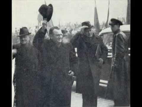 Klement Gottwald - Projev 25. 2. 1948