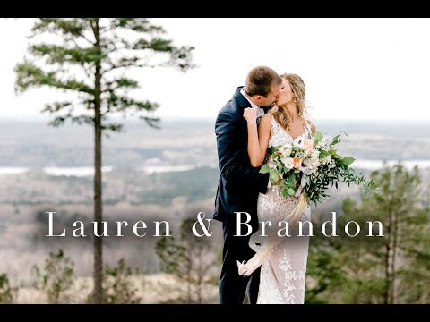 Stunning Wedding At Pursell Farms // Lauren & Brandon