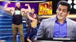 WWE Wrestler Challenges Salman Khan  || Salman Khan || Sonakshi Sinha || Braun Strowman || WWE